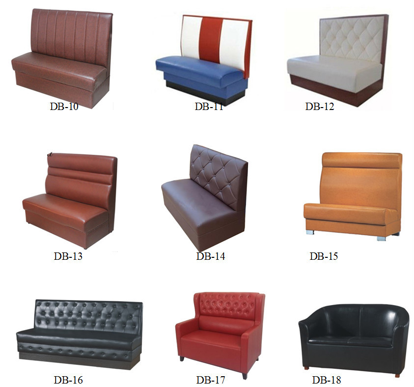 Commercial Banquette Seating: Button High Back Commercial Banquettes & Booths For