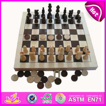 2015 high-grade chess game for kids,popular wooden boxes chess set for sale,educational travel wooden chess toy in box WJ277099