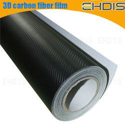 152x30cm 3d carbon fiber pdlc film car black colors accessory of automobiles