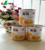 USA canned foods company sell canned yellow peach halves in light syrup from china factory