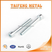 high strength galvanized hex socket cap screw