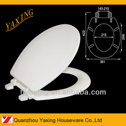 Yaxing F7002 mold MDF american standard cute toilet seat cover