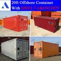 galvanizado 20ft contenedores offshore