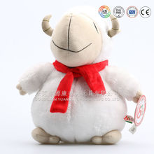 ICTI audits OEM factory plush sheep toy &2015 chinese new year sheep