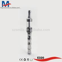 E e320 cigarate, 2014 nuevo cigarrillo electrónico electrónicos de tabaco