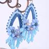 free bead earrings ,resin earrings wholesale, DIY earrings(swtaa1164)