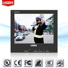 super mini 5inches professional lcd monitor with 640*480 resolution support professional display