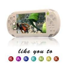 """Sanemax 4.3"""" capacitance touch screen mp4 player wifi and 3D games player"""