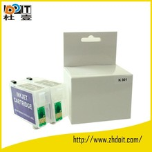 compatible for EPSON T1371 refillable ink cartridge