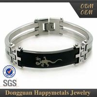 Export Quality Stainless Steel Latest Design Plated Horse Sex With Women Bangle