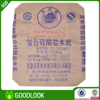 lamination woven good waterproof pp woven polyester cement big bag