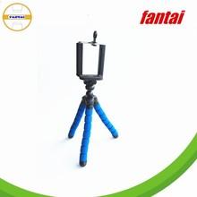 Creative Style Mobile Phone Holder & camera Flexible Mini Tripod,Octopus Tripod for cell smart phone