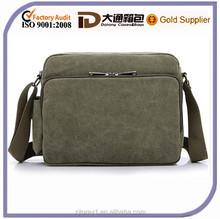 wholesale custom canvas men shoulder messenger bag