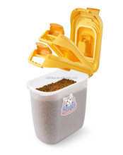 Plastic Pet Food Container Fresh Keeping M