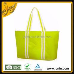 Durable Custom Polyester folding shopping tote Bag