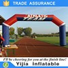 Customizable inflatable entrance finish line arch inflatable arch