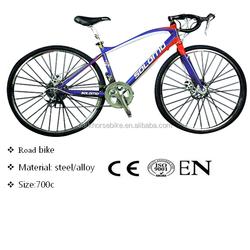 light road bike, high quality steel road bike frame, hybrid road bike