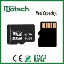 oem completa capacidad de alta calidad a granel de la tarjeta del tf para tablet