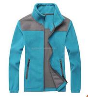 Factory OEM Men Women Fashion Polar fleece 100% polyester 360gsm Jacket Warm split joint unisex coat