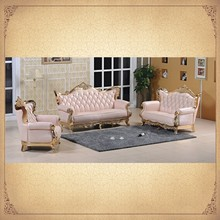 Cute Pink Living Room Sofas Modern Combinated Classical Romantic Furniture
