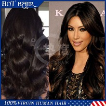 Natural Looking Full Lace Wig brazilian virgin hair full lace wigs