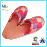 spring Chinese slipper cheap suit fabric indoor outdoor slipper