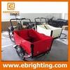 Denmark new trike 3 wheel electric cargo bike tricycle mini truck made in China