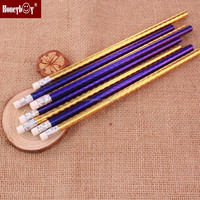 wooden glitter quality control of pencil