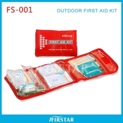 First reponder kit wholesale 31-piece roadside emergency kit