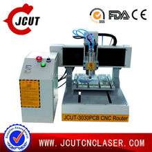 Good performance with easy operation JCUT-3030 desktop pcb cnc router