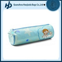 Lovely practical promotion kids round cute pencil bag for school