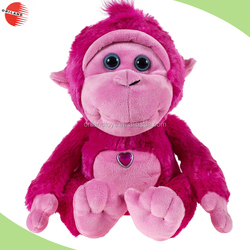 Best selling gifts A Couple of Huggable plush teddy bear monkey valentines soft toys