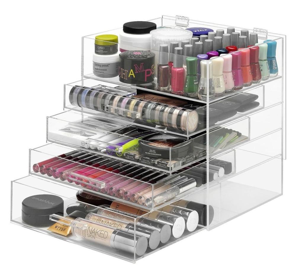 en gros acrylique maquillage organisateur avec tiroirs. Black Bedroom Furniture Sets. Home Design Ideas