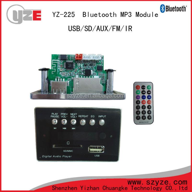 High Quality Usb Sd Mp3 Bluetooth Speaker Circuit Board