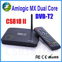 CS818II azbox dvb-t2 analog television AMLogic8726-MX Android4.2 dual core tv box