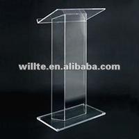 fashion desgin acrylic pulpit furniture
