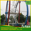 Exciting Outdoor Ferris Ring Car Ride Theme Park Games for Family