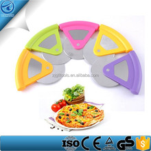 ABS Handle Stainless Steel Bicycle Pizza Cutter ,Plastic Pizza Cutter