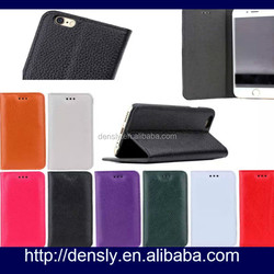Factory price Genuine Leather For Apple Iphone 6 Leather Case for iphone 6 4.7'' Cover