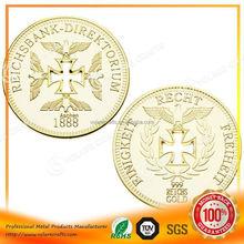 Custom Made 2012 hot sale silver souvenir coins