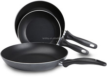 Discount Wholesale Non-stick Frying Pan Set For Induction Cooking , 3pcs Cooking Pots and Pans, Gray,8-Inch, 9.5-Inch,11-inch