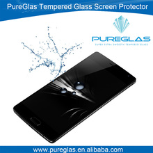 Mobile phone use anti shatter tempered glass protector for OnePlus Two mobile phone screen guard