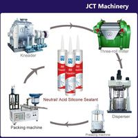 machine for making uv resistant inside use construction silicone sealant
