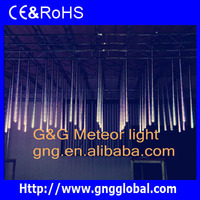holiday decorative christmas star icicle tube light led waterfall light effect