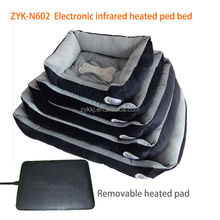 made in China alibaba warm therapy Electric 12v infrared heated cheap pet bed for dogs