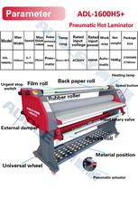 Office equipment heated roll Laminator|roll laminating machine for sale ADL-1600H5+