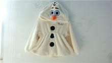 producto y el servicio del oem de suministro tipo congelado encantador muñeco de nieve de la olaf traje de la mascota para niños