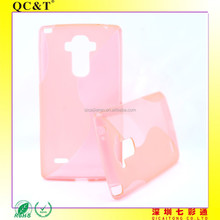 Muti-Colors S line Soft TPU Phone Case Cover for LG LS770 G4 STYLUS
