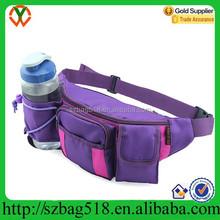 supply bottle running sport waist bag pack with splice design