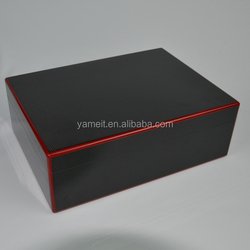 Fashion make up cosmetic box Wooden gift box latches for wooden box